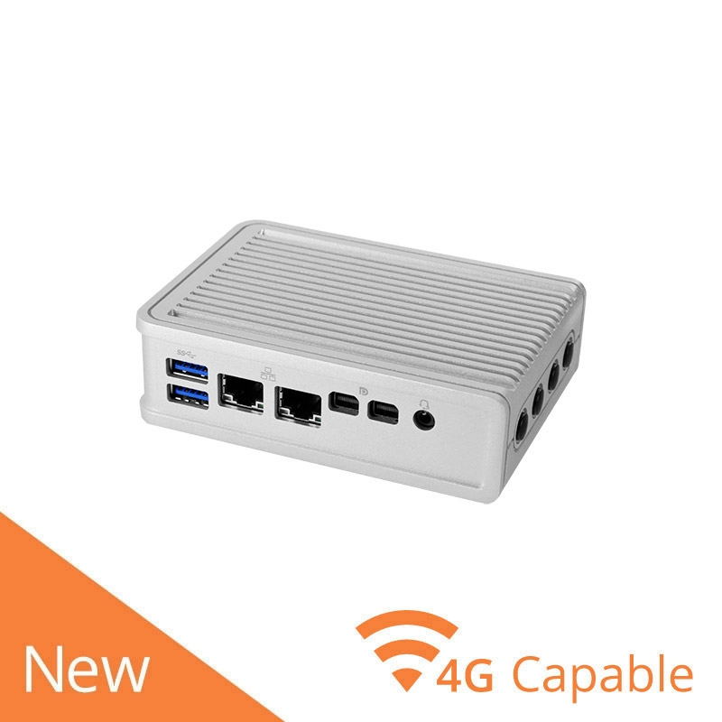 Ultra Compact Fanless Edge Device w/ Dual LAN