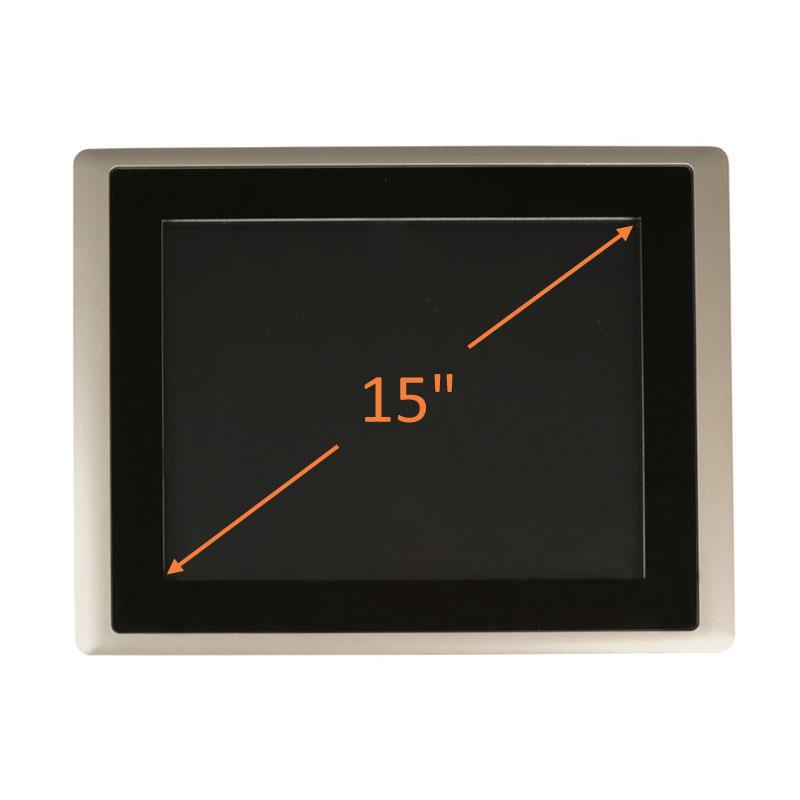 "15"" Intel Atom HMI Control Panel"