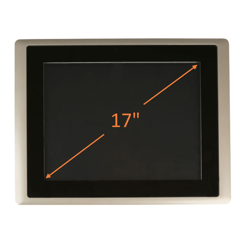 "17"" Intel Atom HMI Control Panel"