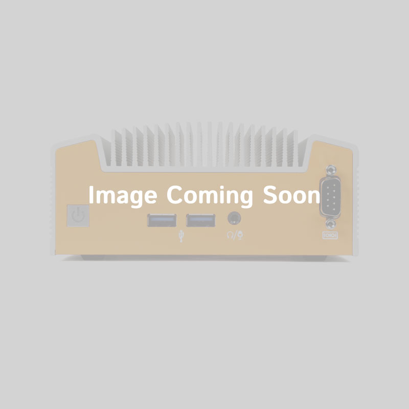 1U Rackmount Case with LCD display, 4x Hot-Swap Bay *Shown as Shipped*