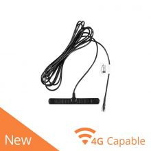 Taoglas T-Bar GSA.8822 2G/3G/4G LTE selbstklebende Antenne, SMA(M), 3M RG-174