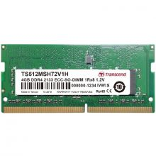 Transcend SO-DIMM DDR4 2133 ECC Memory - 4GB - [V3]