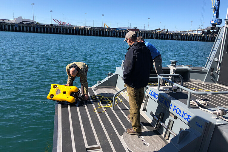 VideoRaye ROV Net Inspection