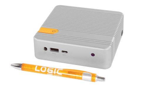 CL100 Fanless NUC with pen