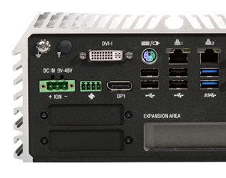 Cincoze DS-1001 Rugged Intel Haswell Fanless Computer with Expansion