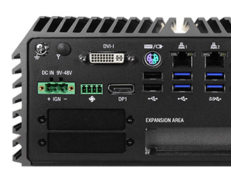 Cincoze Rugged Intel Skylake Fanless Computer with Expansion