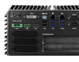 Cincoze lüfterloser Rugged PC mit Intel Skylake und 2 Erweiterungen