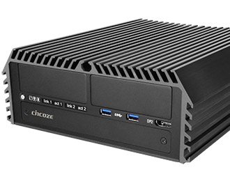 Cincoze rugged fanless Intel Coffee Lake-computer