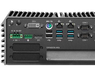 Cincoze lüfterloser Rugged PC mit Intel Coffee Lake & Erweiterung