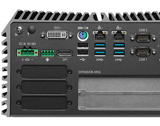 Cincoze rugged fanless pc met Intel Coffee Lake Dual Expansion of GPU