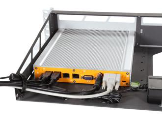 MK020-10 Lüfterloser 2U Rackmount PC mit Intel Braswell