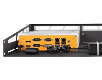 MK020-10 Fanless Intel Haswell 2U Rackmount Computer