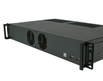 Intel Coffee Lake 1.5U Rackmount Computer