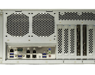 4U Rackmount Scalable Xeon Edge Server with PCIe expansion