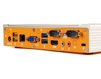 Lüfterloser Industrie-PC mit Intel Bay Trail