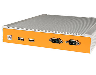 Lüfterloser Industrie-PC mit Intel Braswell und Dual Gb LAN
