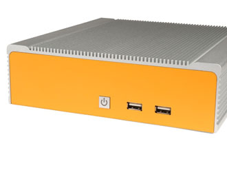 Lüfterloser Industrie-Mini-ITX-PC mit Intel Haswell Performance