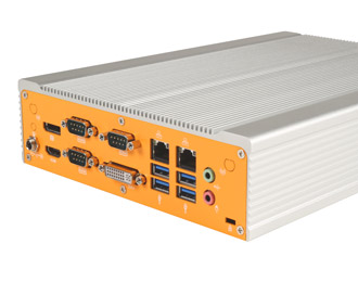 Lüfterloser Industrie-Mini-ITX-PC mit Intel Haswell Core i3/i5
