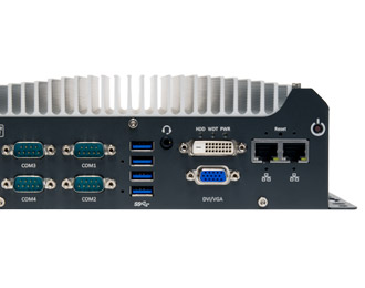 Neousys Rugged Entry-Level Compact Fanless Coffee Lake Computer