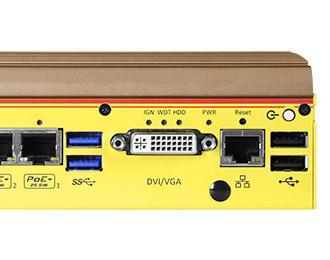 Kompakter Rugged Fahrzeug-PC von Neousys mit Intel Apollo Lake