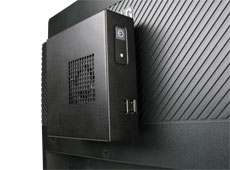 VESA-75 Mounted AG960 NUC Case