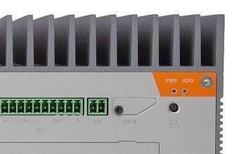 GRL400 Rugged Multi-channel NVR for Video Analytics