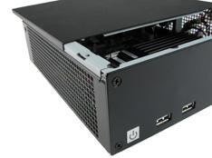 kwalitatieve Mini-ITX case vermindert EMI