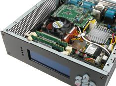 MC500 Mini-ITX case werkt met veel moederborden