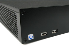 Mini-ITX Computer Case with smart power button