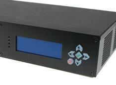 MC603 Mini-ITX Case LCD Display