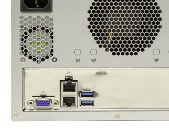 Mini-ITX Scalable Xeon Mini Edge Server with PCIe expansion