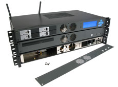 Modular, flexible and customizable 1U Rackmount Case
