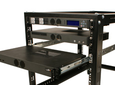 MK100 1U Rackmount Case has several add-on kits
