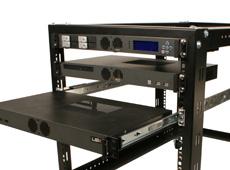 MK100 1U Rackmount Case has several add-on kits