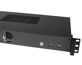 1U Rackmount-PC mit Intel Coffee Lake Xeon