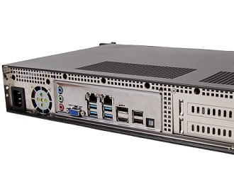 1.5U Rackmount-Edge-Server mit Intel Coffee Lake Xeon E