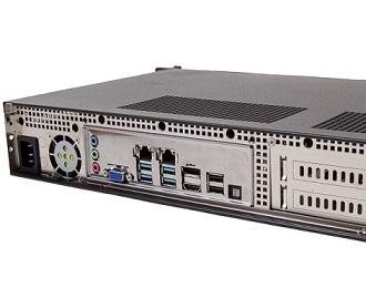 1.5U Rackmount-PC mit Intel Coffee Lake Xeon
