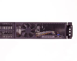 2U Rackmount Scalable Xeon Edge Server with PCIe expansion