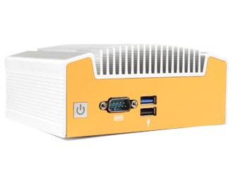 ML100G-10 industriële fanless NUC