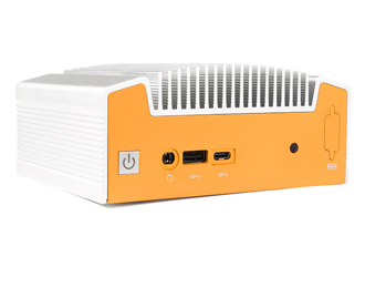 Lüfterloser NUC-Industrie-PC mit Intel Skylake