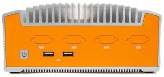 Kompakter lüfterloser Industrie-PC mit Coffee Lake