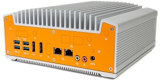 Compact Fanless Industrial Coffee Lake Computer