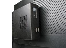 NC200 Intel NUC Case VESA mounted