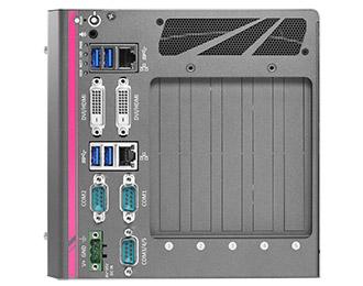 Neousys Rugged PC mit optionaler GPU, Erweiterung und Intel 6th Gen