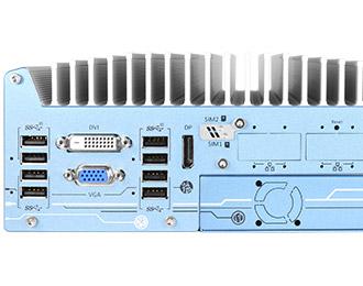 Neousys Rugged Intel Coffee Lake Fanless Computer