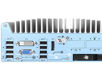 Neousys Rugged Intel® Coffee Lake Low Profile Fanless Computer
