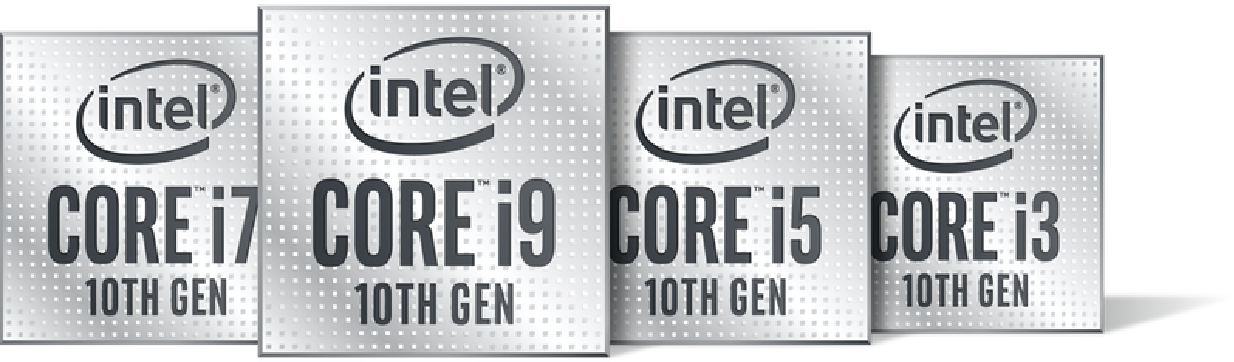 Intel Processor logos