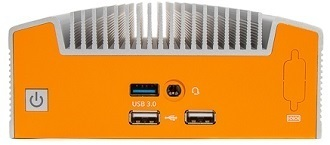 Industrial Fanless Intel Whisky Lake Embedded NUC With Dual LAN