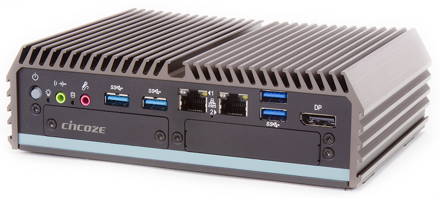 Cincoze DC-1200 Rugged Intel Apollo Lake Fanless Computer