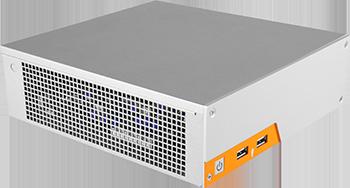 MC500 in Orange und Schwarz